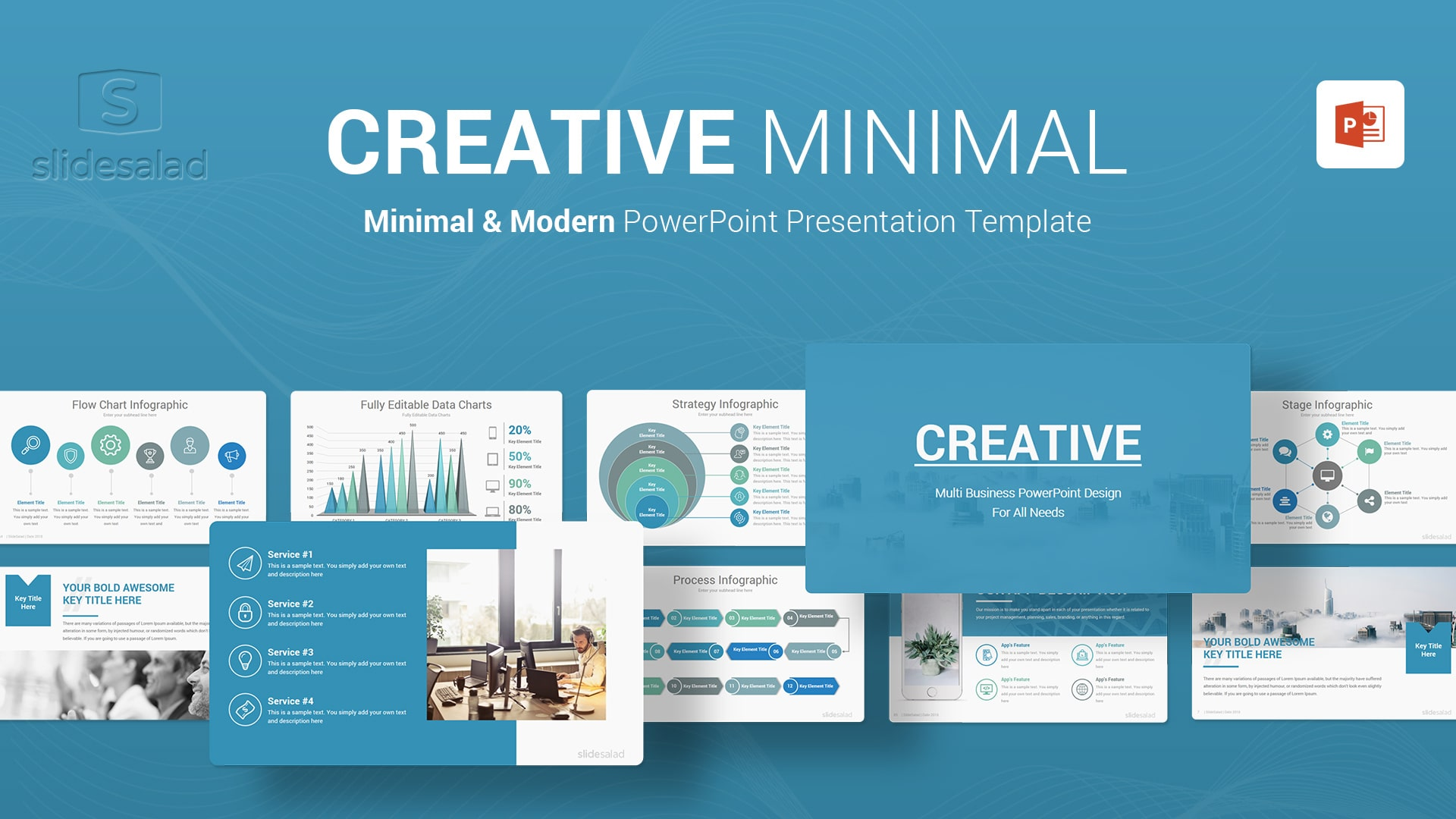 Creative Business PowerPoint Templates - Best Webinar PowerPoint Template