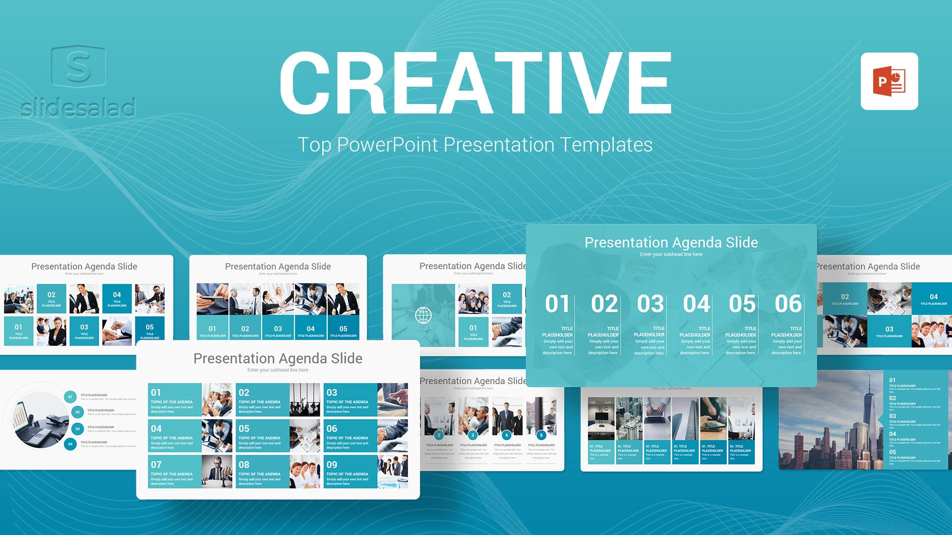 Creative PowerPoint Presentation Template - Attractive PPT Slideshows Templates
