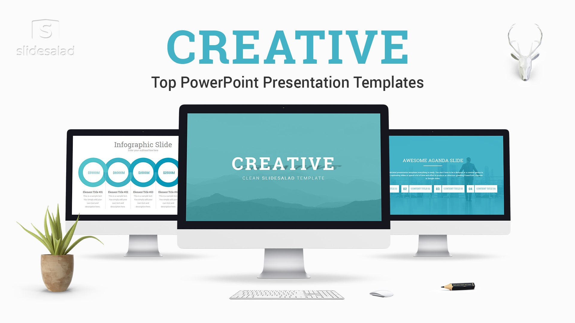 Creative PowerPoint Presentation Template – Awesome Fresh PowerPoint Template Designs