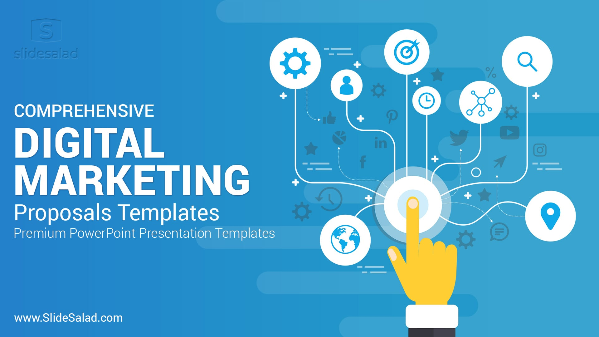Best Digital Marketing Proposals PowerPoint Templates - Fully Animated PowerPoint Presentation Template