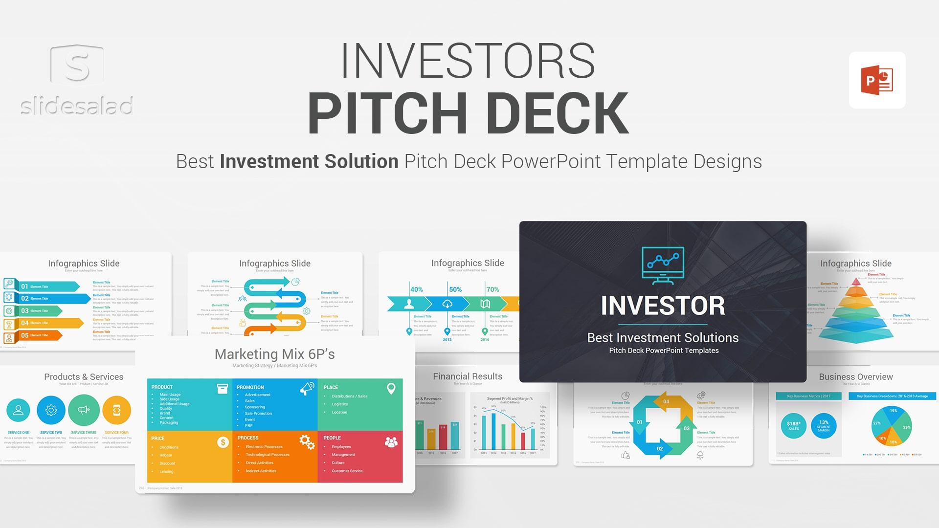 Best Investors Pitch Deck – Investment Proposal PowerPoint Templates - Best Investors Webinar PPT Templates