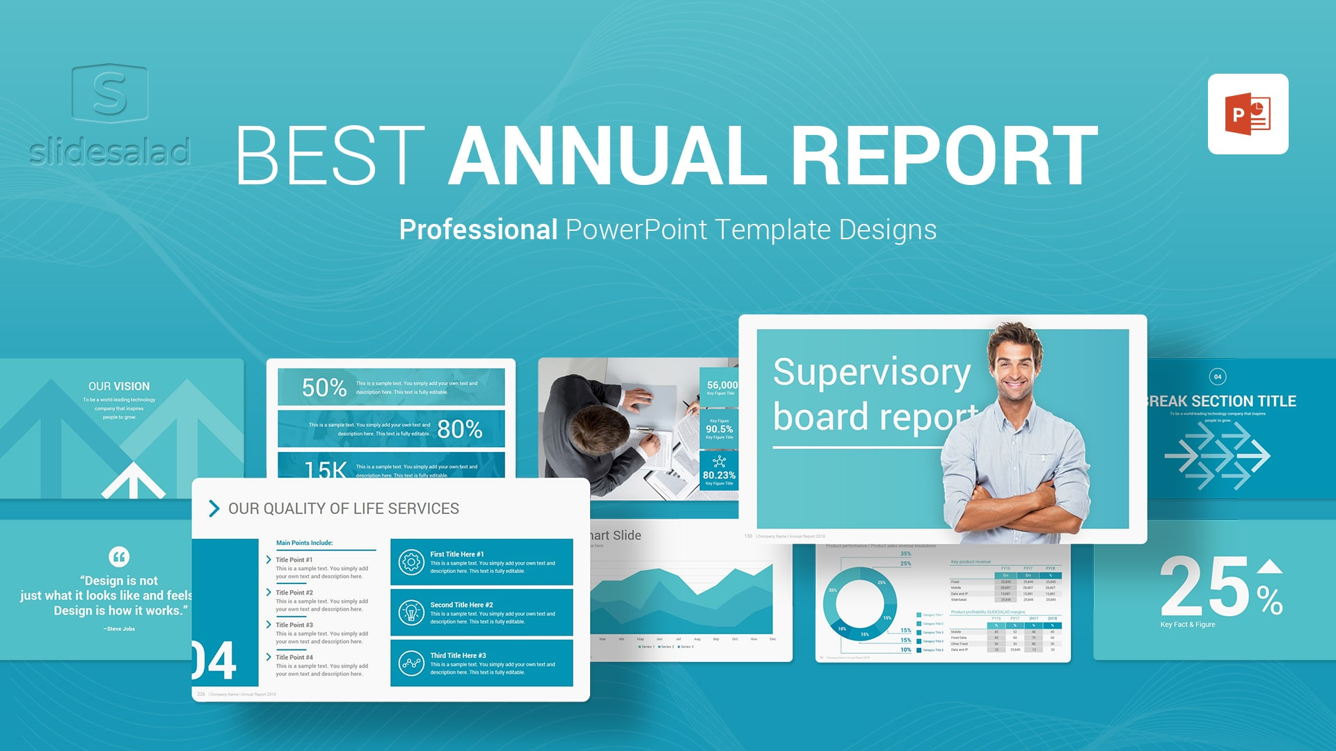 Annual Report PowerPoint Presentation Templates - Complete Yearly Reporting PPT Templates