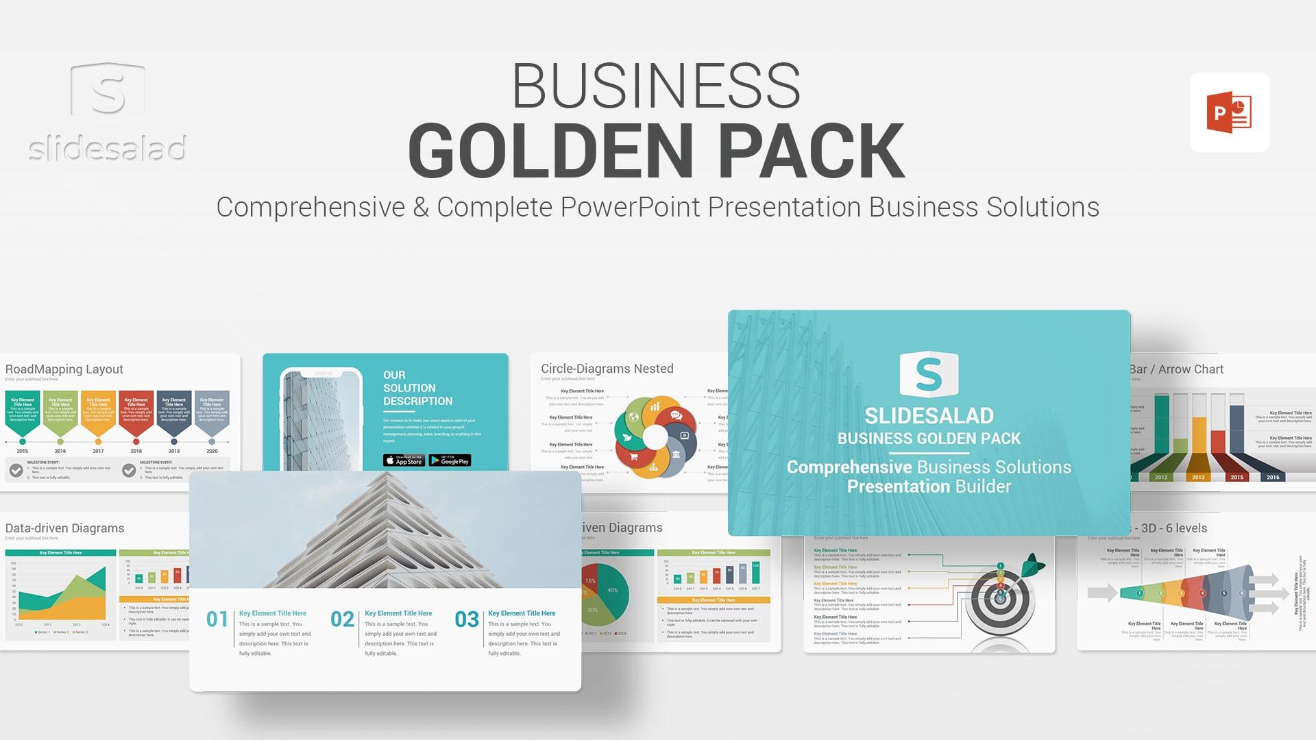 Business Multipurpose PowerPoint Presentation Template - Customizable Premium PowerPoint Template